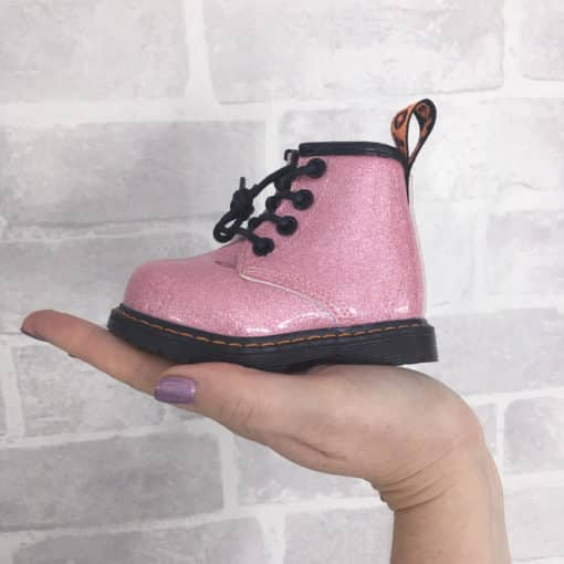 Itty Bitty Princess Pink Shimmer Boots