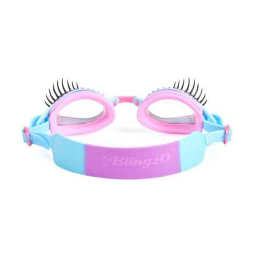 Itty Bitty Girls Swimming Goggles Peri Wink Le Glam Lash 2