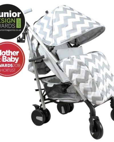 Billie Faiers MB51 Grey Chevron Stroller