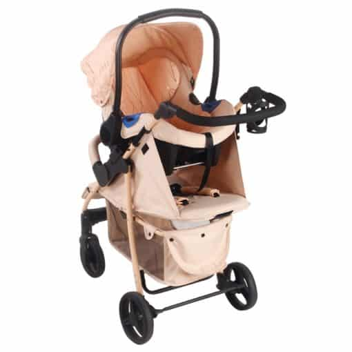 Rose Gold MB30 Blush Pushchair and Car Seat