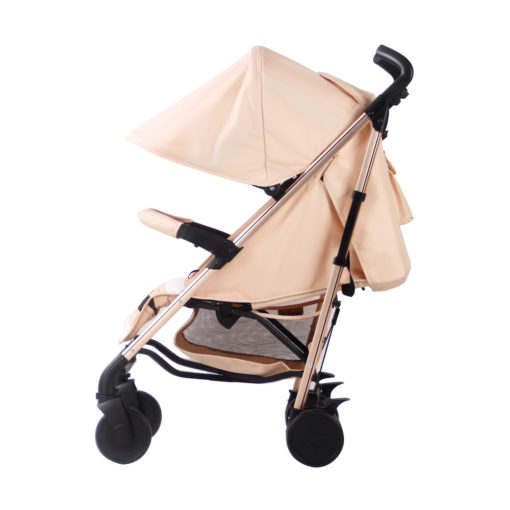 Christina Milian AMPM MB51 Blush Stripes Rose Gold Stroller