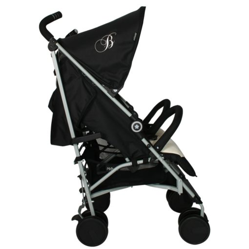 Billie Faiers MB22 Black and Cream Double Stroller