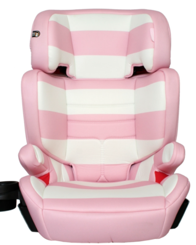 My Babiie Group 2 3 Pink Stripes Car Seat