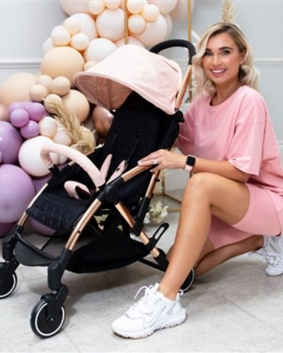 Billie Faiers Rose Gold Blush Ultra Light Stroller MBX4