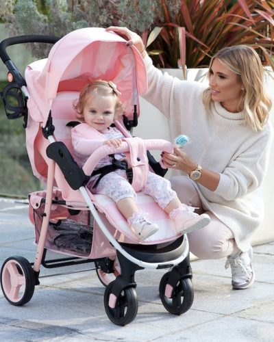 Billie Faiers MB30 Pink Stripes Pushchair
