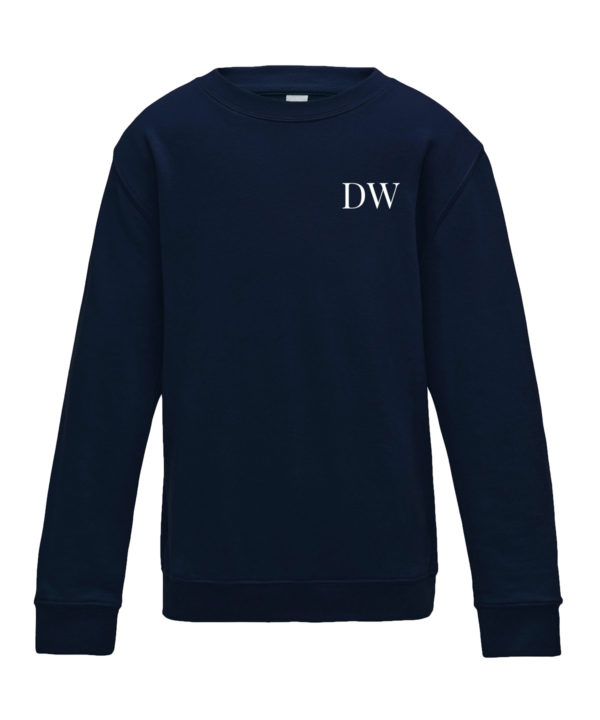 Itty Bitty French Navy Personalised Initials Tracksuit