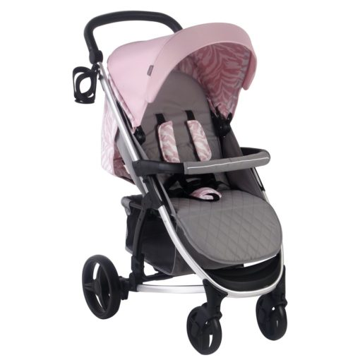 Dani Dyer MB200 Pink & Grey Travel System