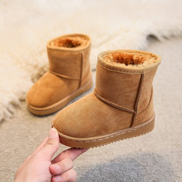 Itty Bitty Gingerbread Snuggle Boots